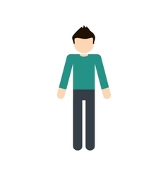 Man male avatar person people icon vector