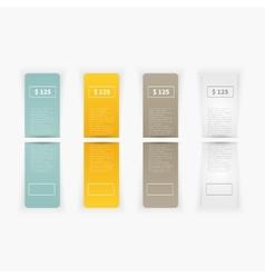 Set blank rectangle labels vector