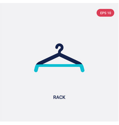 two color rack icon from cleaning concept vector image