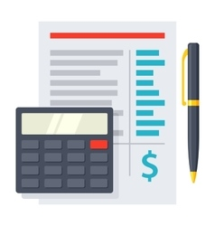 Budgeting Icon vector image