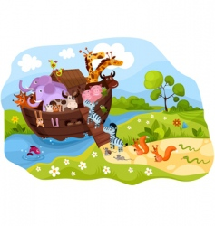 animal ark vector image vector image