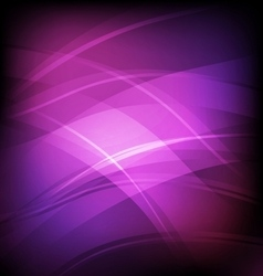 Abstract background with violet line wave vector