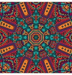 Abstract ethnic colorful seamless pattern vector