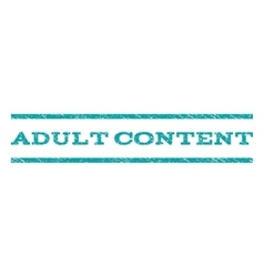 Adult Content Watermark Stamp vector