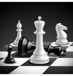 Chess Game Realistic vector