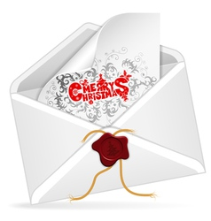 Christmas Email vector