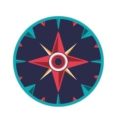 Compass rose design vector