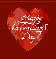 happy valentins day vector image