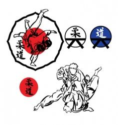 Judo vector