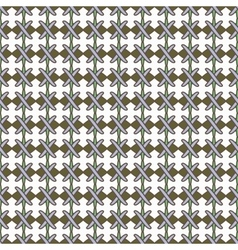 Line and cross seamless pattern 1706 vector