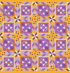 lovely geometrical seamless pattern vector image