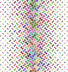 Multicolor pattern background vector