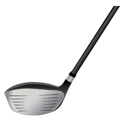 Golf Driver vector image vector image