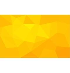Yellow triangle structure abstract background vector image vector image