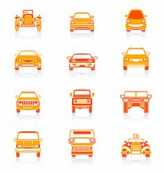 car icons juicy series vector image vector image
