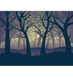Abstract Forest Landscape6 vector