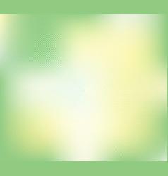 green halftone banner background vector image