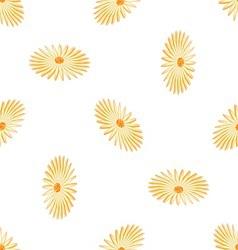 seamless romashki vector image