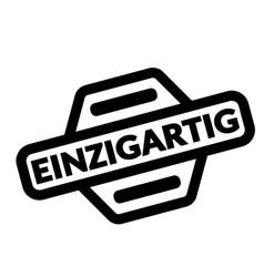 unique black stamp vector image