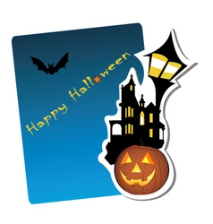 halloween graphic vector image vector image