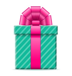 gift box 05 vector image vector image
