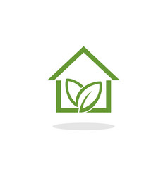 home green vector image vector image