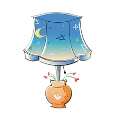 A lamp vector