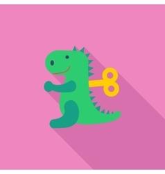 Dinosaurus toy vector