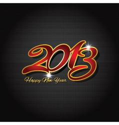 Happy new year on carbon fibre 1511 vector