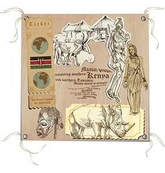 Kenya - Pictures of Life vector