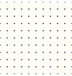 Seamless pattern with hearts vector