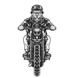 Vintage motorcycle concept vector