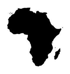 map of africa vector image