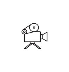 Overhead projector icon vector image