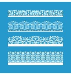 Seamless Decorative Vintage Borders vector image