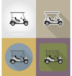 transport flat icons 67 vector image vector image