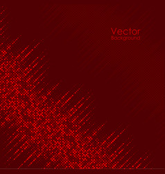 Abstract background with red dots vector