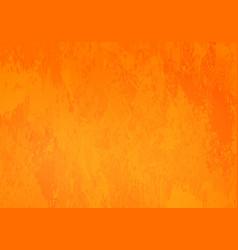 bright orange grunge background vector image