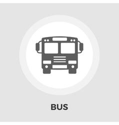 Bus Flat Icon vector