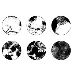 grunge stamp set 1 vector image