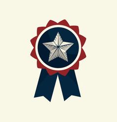 Independence day emblem celebrate national vector