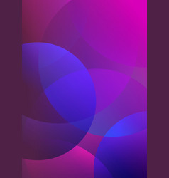 Purple abstract background with geometric vector