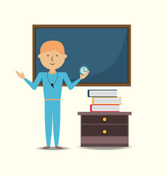school teacher design vector image