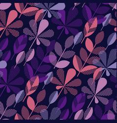 autumn leaf fall geometry modern motif vector image vector image