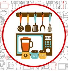 kitchen concept vector image
