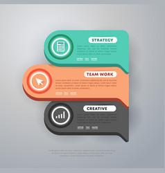 Infographics elements template vector