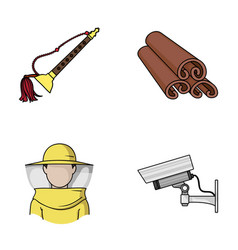 Art beekeeping and other web icon in cartoon vector