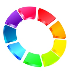 colorful icon vector image