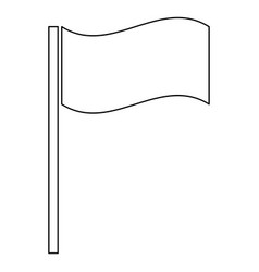 Flag icon vector