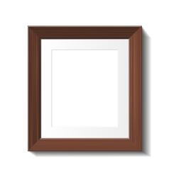 hardwood frame vector image